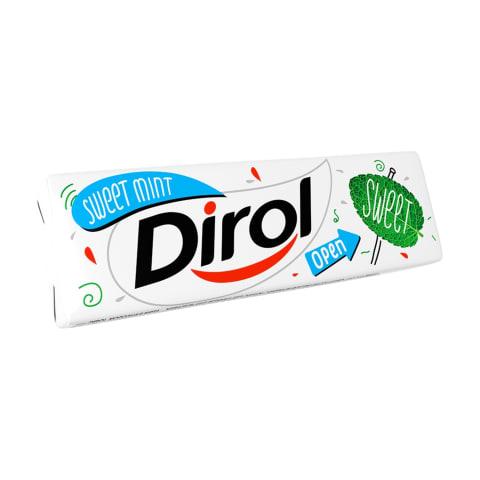 Košļājamā gumija Dirol Sweet Mint 13,6g