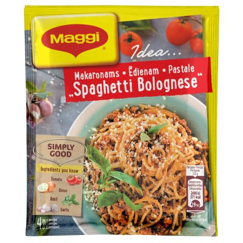 Kaste pastale Spag. Bolognese Maggi Idea  44g