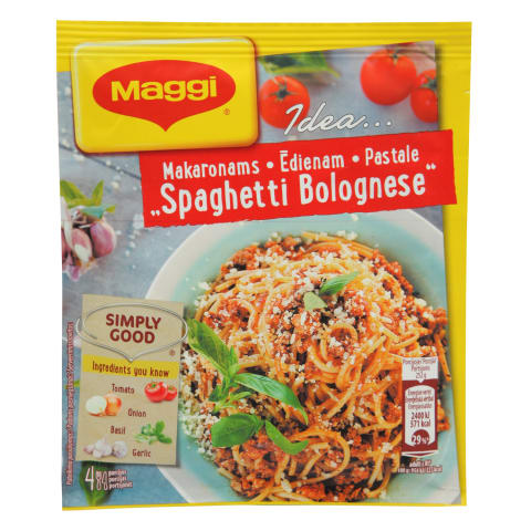 Garšviela Maggi Idea Spaghetti Bolognese 47g
