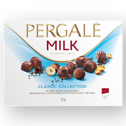 Konfektes Pergale piena šokolādes asorti 373g