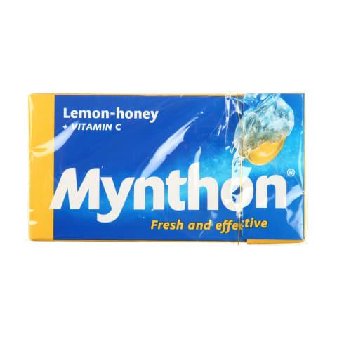 Pastilas Mynthon citrona medus 34g