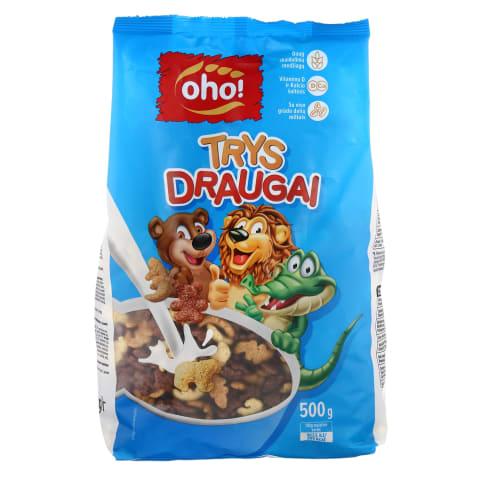 Sausi pusryčiai OHO TRYS DRAUGAI, 500g