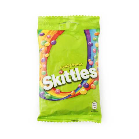 Konfektes Skittles Crazy Sours 125g