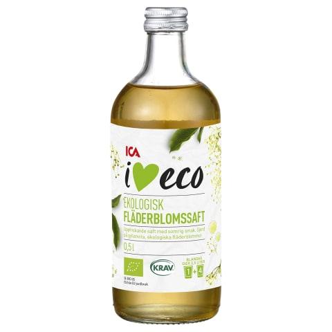 Leedriõiesiirup I Love Eco 0,5l