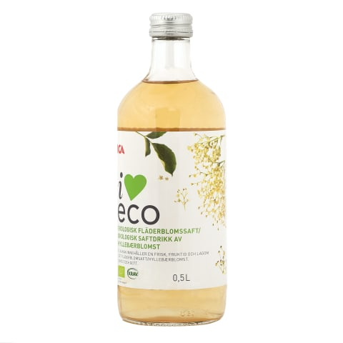 Sīrups I Love Eco plūškoka ziedu 500ml