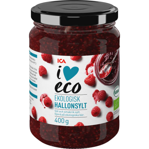 Ievārījums I Love Eco aveņu 400g