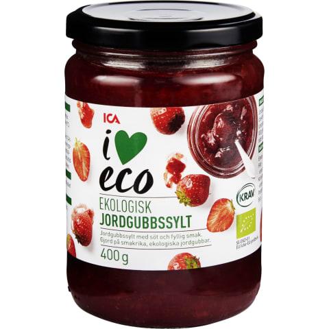 Ekologiškas braškių džemas I LOVE ECO, 400g