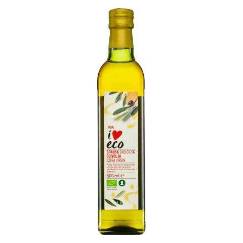 Ekolog. alyvuogių aliejus I LOVE ECO, 500ml