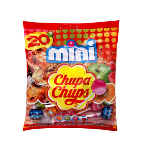 Mini pulgakommid kotis Chupa Chups 120g