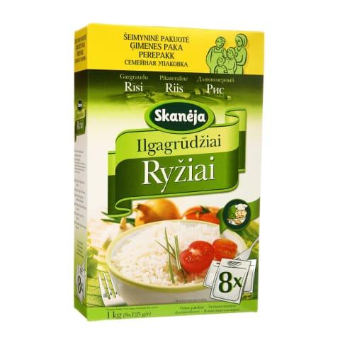 Ilgagrūdžiai ryžiai SKANĖJA, 1kg