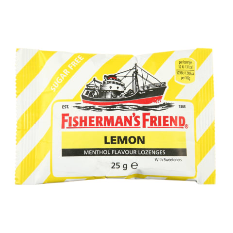 Pastilas Fisherman's Friend citronu 25g