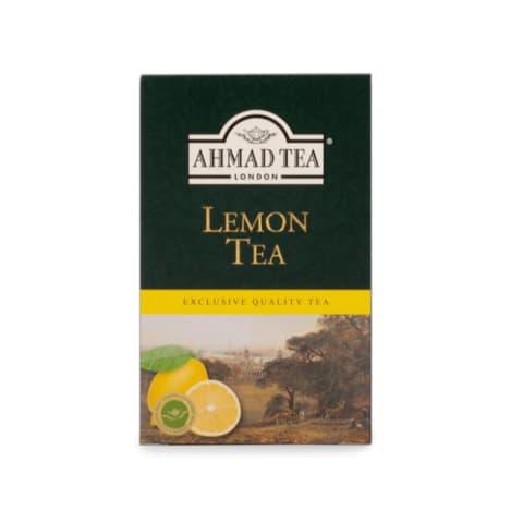 Melnā tēja Ahmad citronu 100g