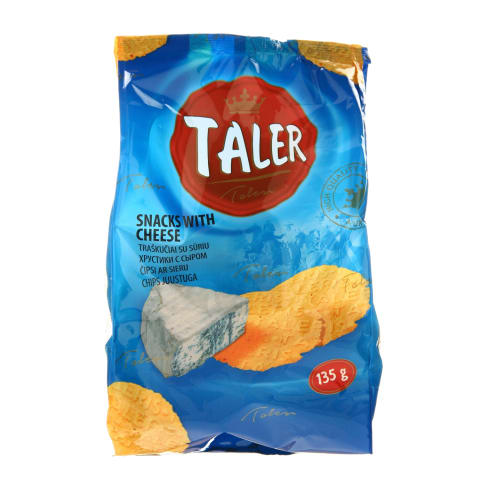 Traškučiai su sūriu TALER, 135 g