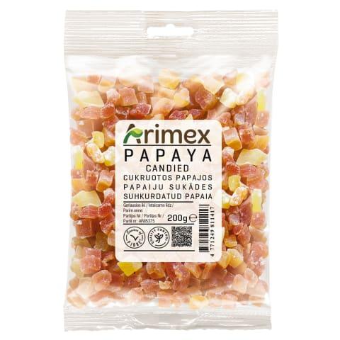 Cukruota papaja ARIMEX 200g