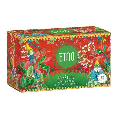 Nykštukų žolelių arbata, ETNO, 22 pak., 33g