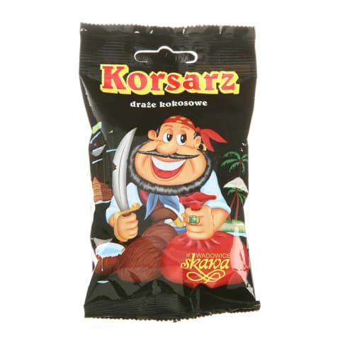 Dražejas Skawa korsarz kokoss šokolādē 70g