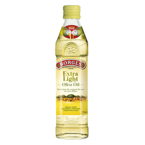 Oliiviõli Extra Light Borges 750ml