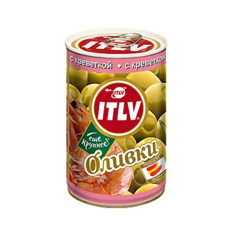 Zaļās olīvas ITLV ar garneļu pastu 314ml