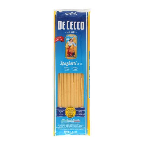 Pasta DeCecco Nr.12 Spaghetti 500g