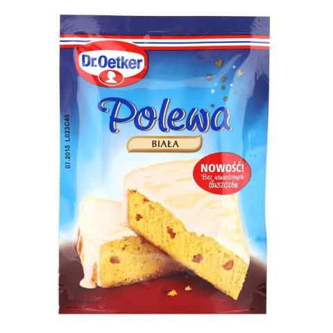 Glasuur valge šokolaadi Dr.Oetker 100g