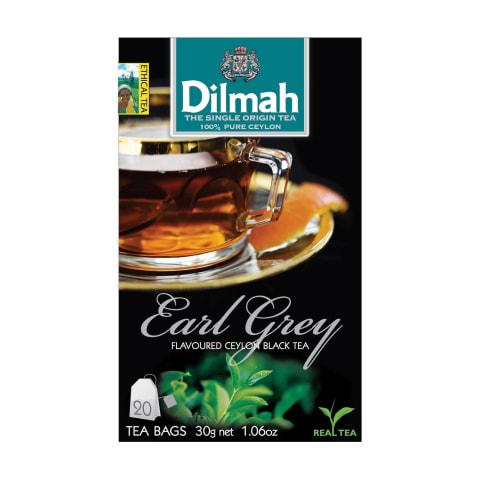 Melnā tēja Dilmah ar bergamotu 20x1,5g
