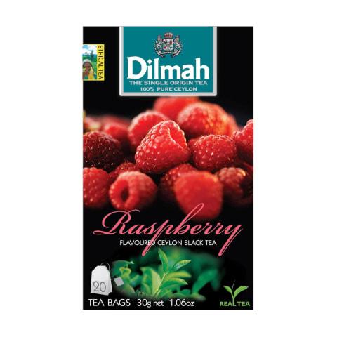 Melnā tēja Dilmah aveņu 20x1,5g