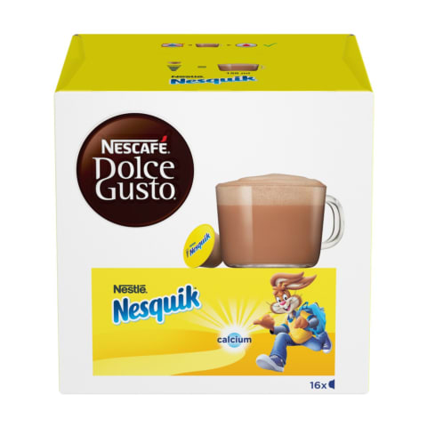 Kakao kapsulās Dolce Gusto Nesquik 16x16g