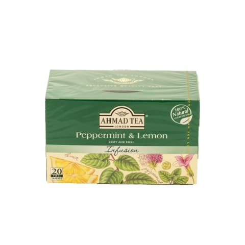 Zāļu tējas mais. Ahmad piparm. citr. 20x1,5g