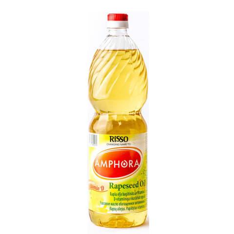 Rapšu eļļa Risso Plus ar vitamīnu D 1l