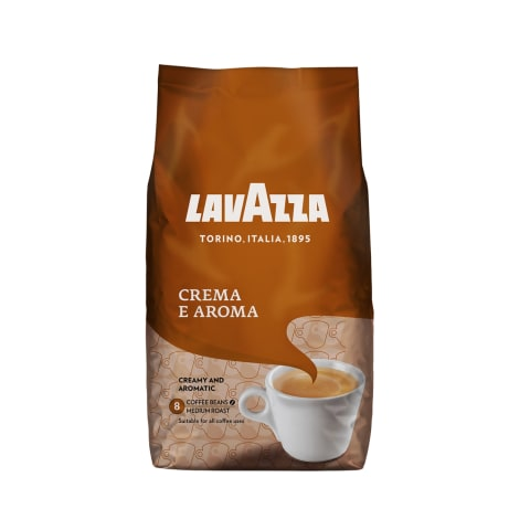 Kafijas pupiņas Lavazza crema e aroma 1kg