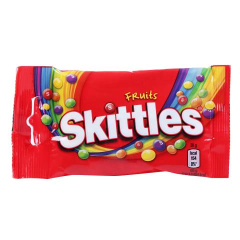 Konfektes Skittles ar augļu garšu 38g