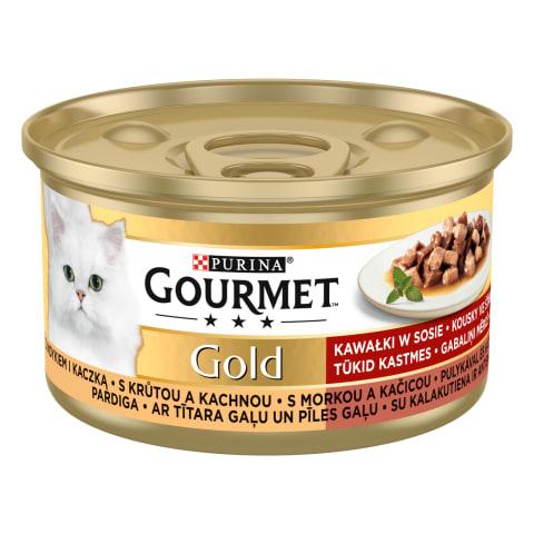 Kons.kaķ. Gourmet tīt.pīle,gab.mērcē,85g