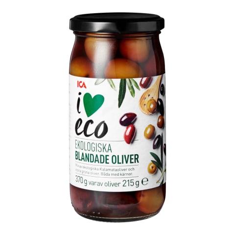 Olīvas I Love Eco 370g/215g