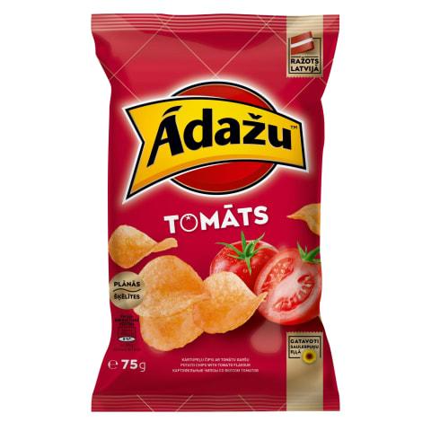 Čipsi Ādažu ar tomātu garšu 75g