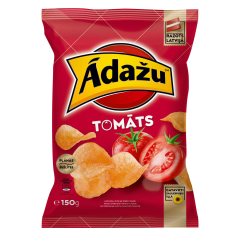 Čipsi Ādažu ar tomātu garšu 150g