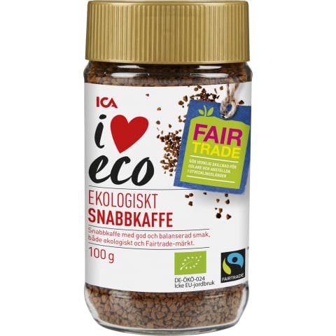 Šķīstošā kafija I Love Eco 100g