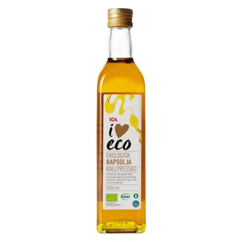 Rapšu eļļa I Love Eco 500ml
