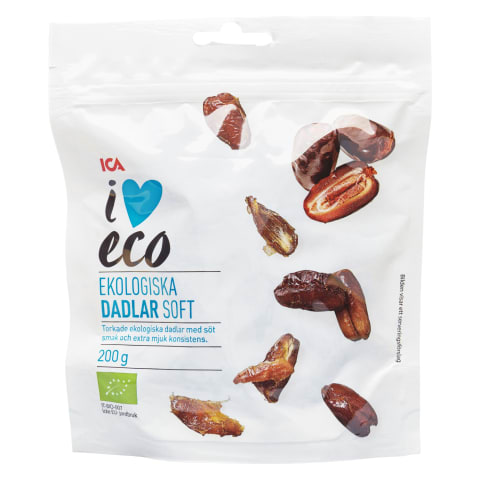 Dateles I Love Eco mīkstas 200g