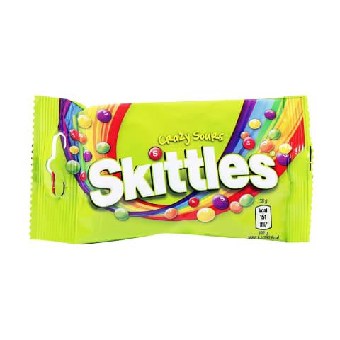 Konfektes Skittles Crazy Sour 38g