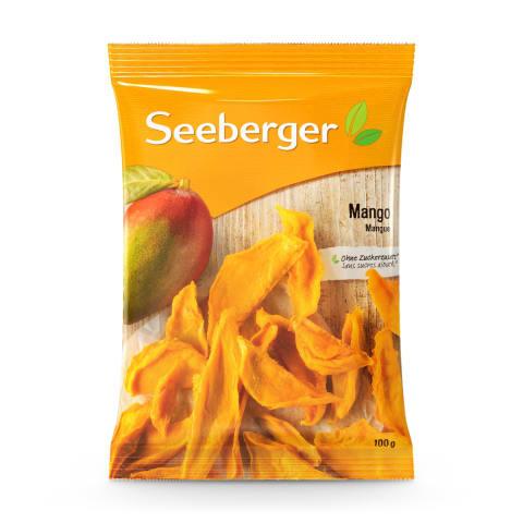 Mango gabaliņi Seeberger 100g