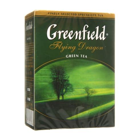 Žalioji arbata GREENFIELD FLYING DRAGON, 100g