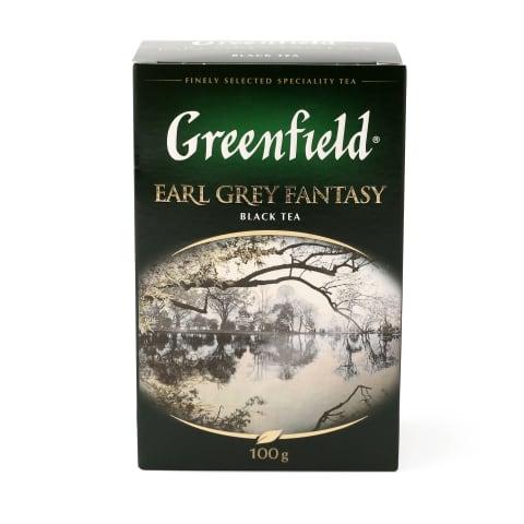 Melnā tēja Greenfield Earl Grey fantasy 100g