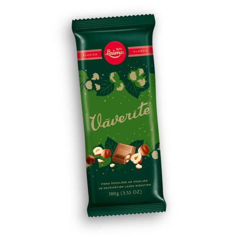 Piena šokolāde Vāverīte 100g