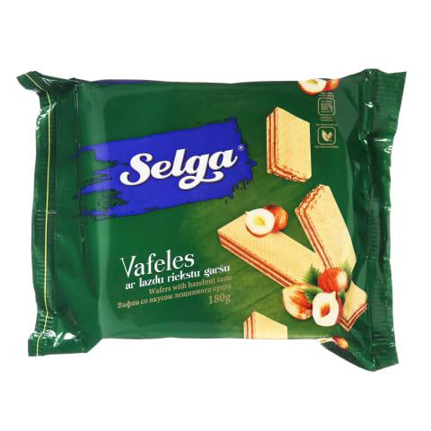 Riešutiniai vafliai SELGA, 180 g