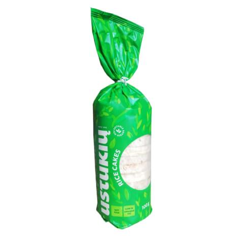 Ryžių trapučiai USTUKIŲ MALŪNAS, 100g