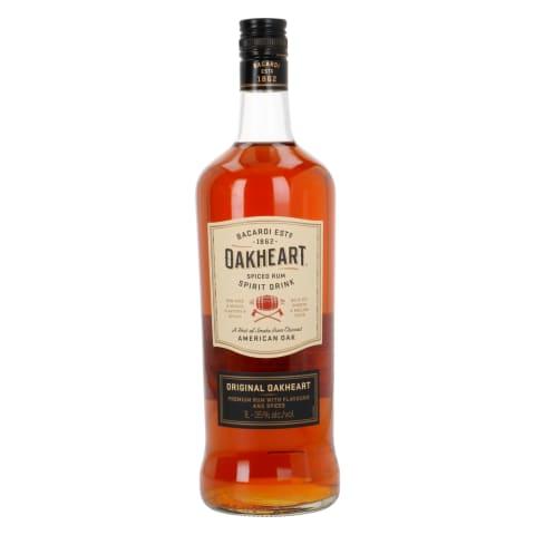 Alk. dzēriens Oakheart Original Spiced 35% 1l