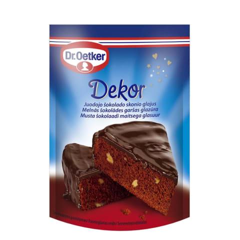 Glazūra Dr.Oetker melnās šokolādes 100g