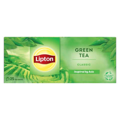 Žal. arbata LIPTON CINI MINIS CLASSIC, 25pak.