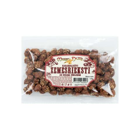 Zemesrieksti ar karameli un sezamu 120g