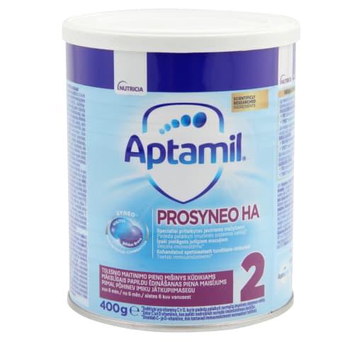 Piena maisījums Aptamil HA 2 no 6 mēn.  400g